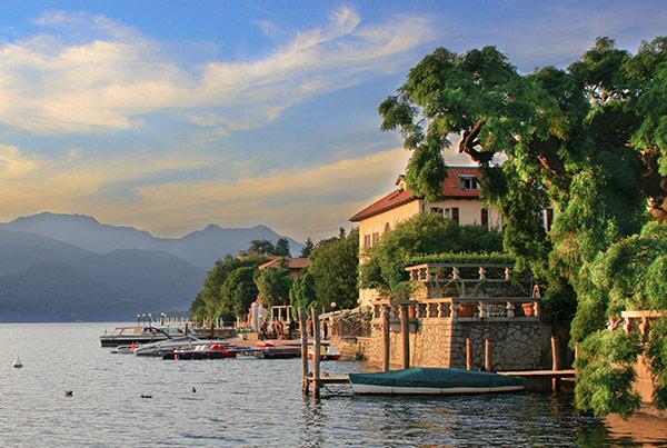 ITALIE : lac Majeur et Milan